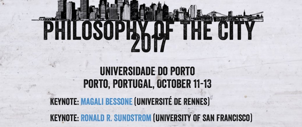 Philosophy of the City 2017 Conference